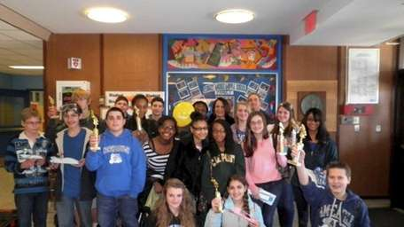 Students from Robert Moses Middle School in North