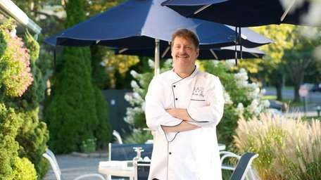Plaza Cafe executive chef-owner Douglas Gulija doesn't have