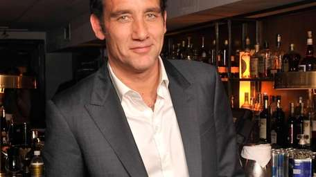 Actor Clive Owen attends an after-party that followed