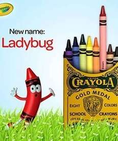 Crayola has renamed its colors for a limited