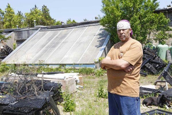 Ruben Bess Valdez, aquaculture consultant to the Shinnecock