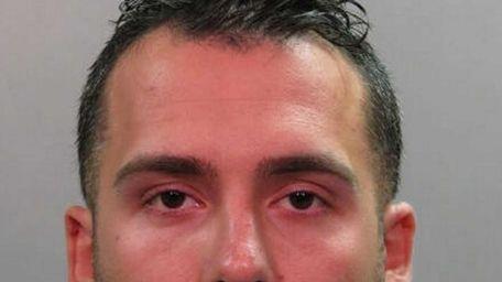 Robert Cohan, 26, of East Rockaway, was arrested