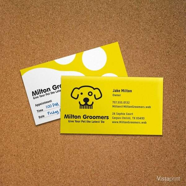 The humble business card is not staring at