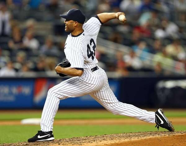Mariano Rivera #42 of the New York