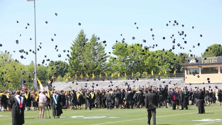 The St. Anthony's High School class of 2013