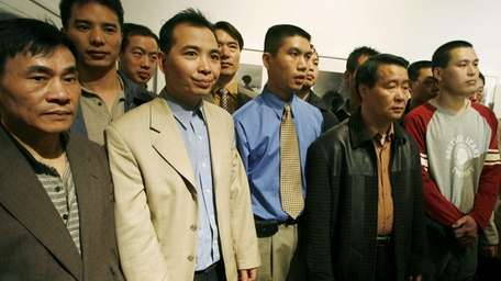 A group of 31 Chinese immigrants, who were