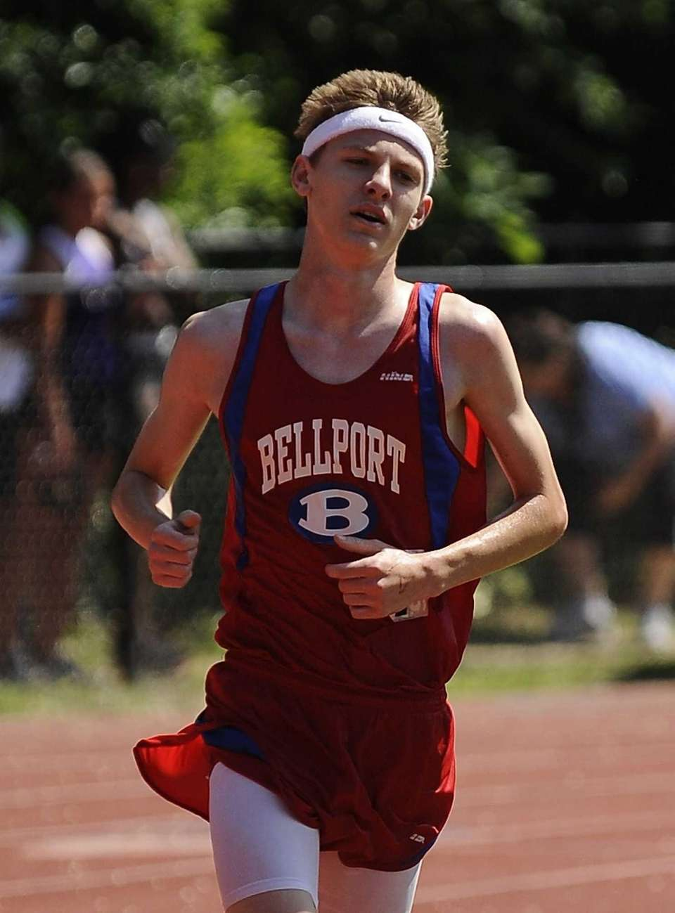 Bellport's Chris Swenson places first in the boys
