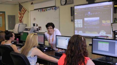 Marie Kozlowsky, a teacher at Longwood High School,