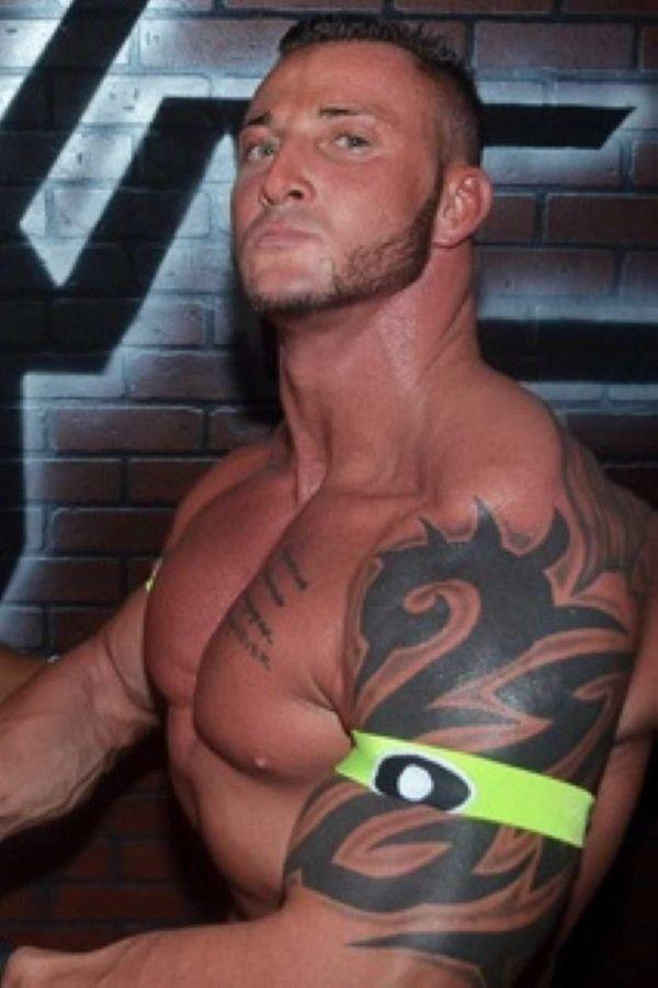 "Adam Ohriner, who wrestles as ""Big O,"" hopes"