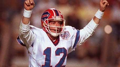 Jim Kelly led the Buffalo Bills to four