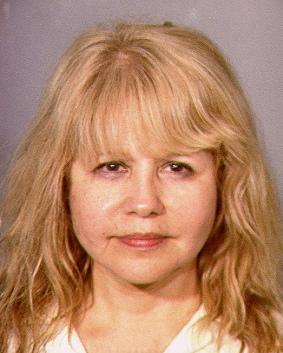 Singer-actress Pia Zadora was arrested June 1, 2013