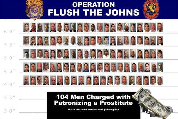 Nassau police and prosecutors announced Monday the arrests