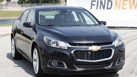 DETROIT, MI - The redesigned 2014 Chevrolet Malibu