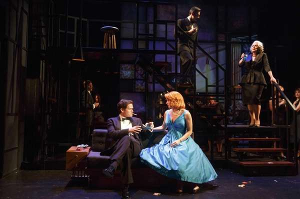 "Stephen Pasquale and Kelli O'Hara in ""Far From"