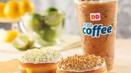 New for summer 2013 from Dunkin' Donuts: summer