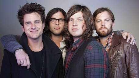 Southern rockers the Kings of Leon were rained