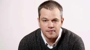 Actor Matt Damon in Pasadena, Calif. (Jan. 4,