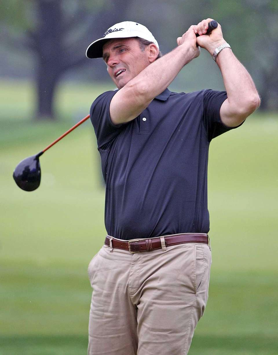 Long Islander Mike Caporale tees off on the