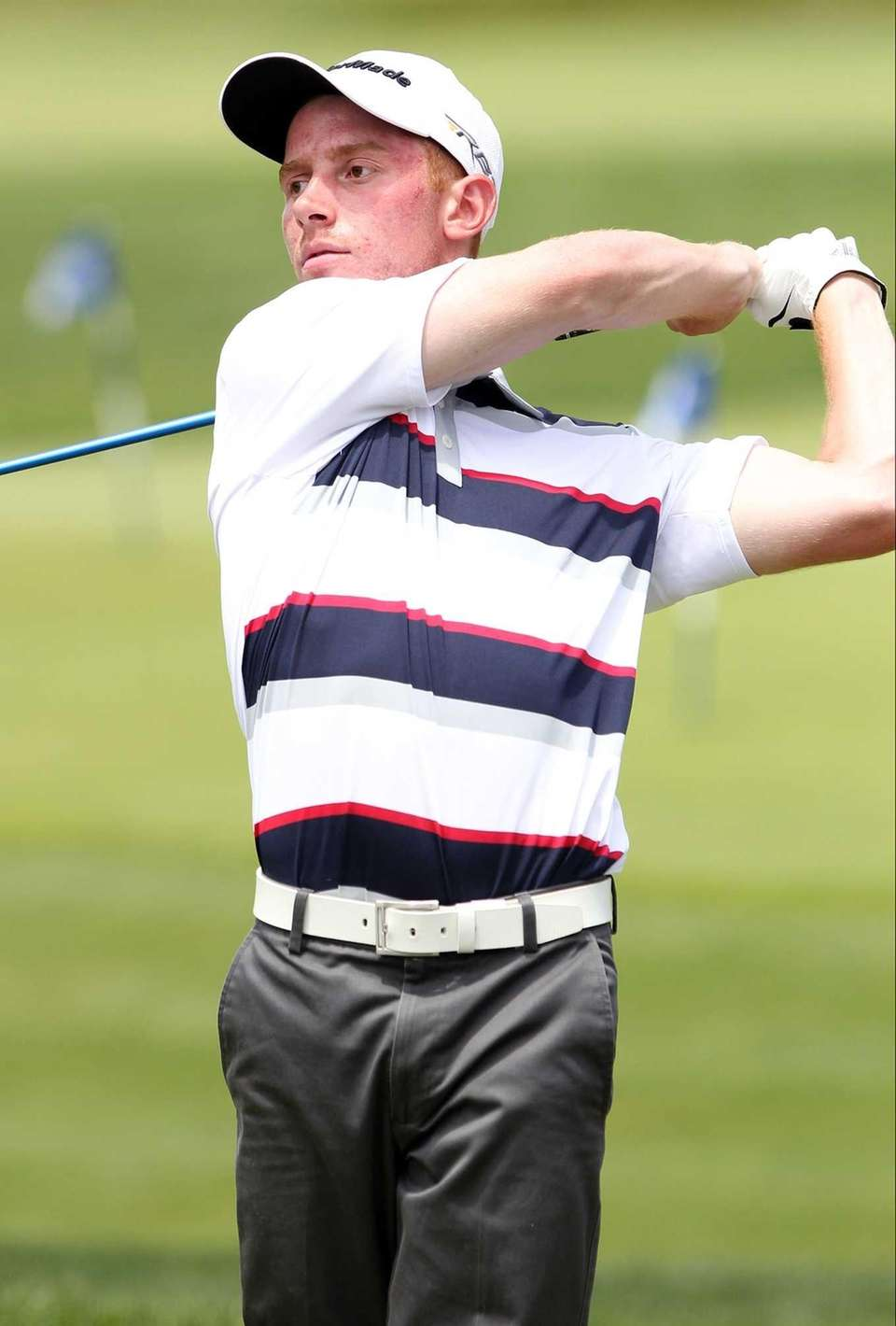 Long Islander Matthew Lowe tees off on the
