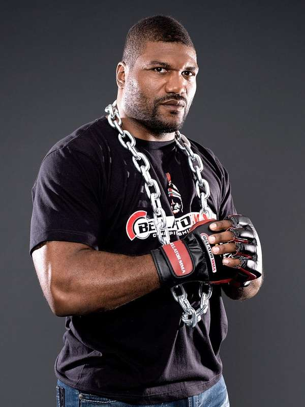 "Quinton ""Rampage"" Jackson said he's confident in his"