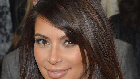 Kim Kardashian at the the E! 2013
