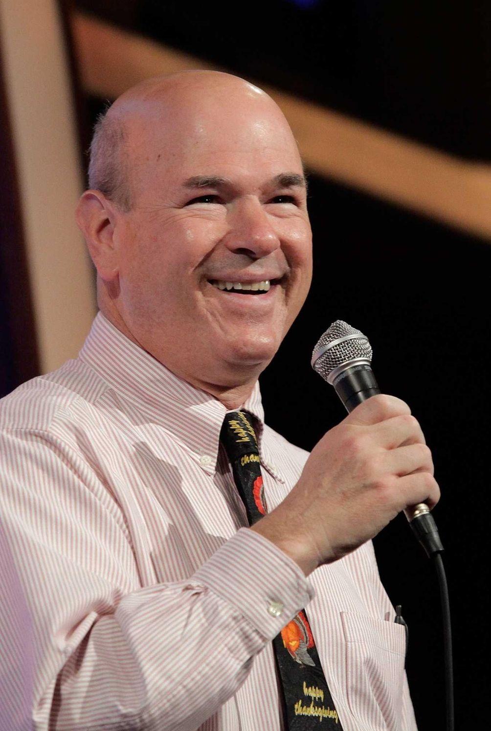 Actor/comedian Larry Miller, who played the vindictive doorman