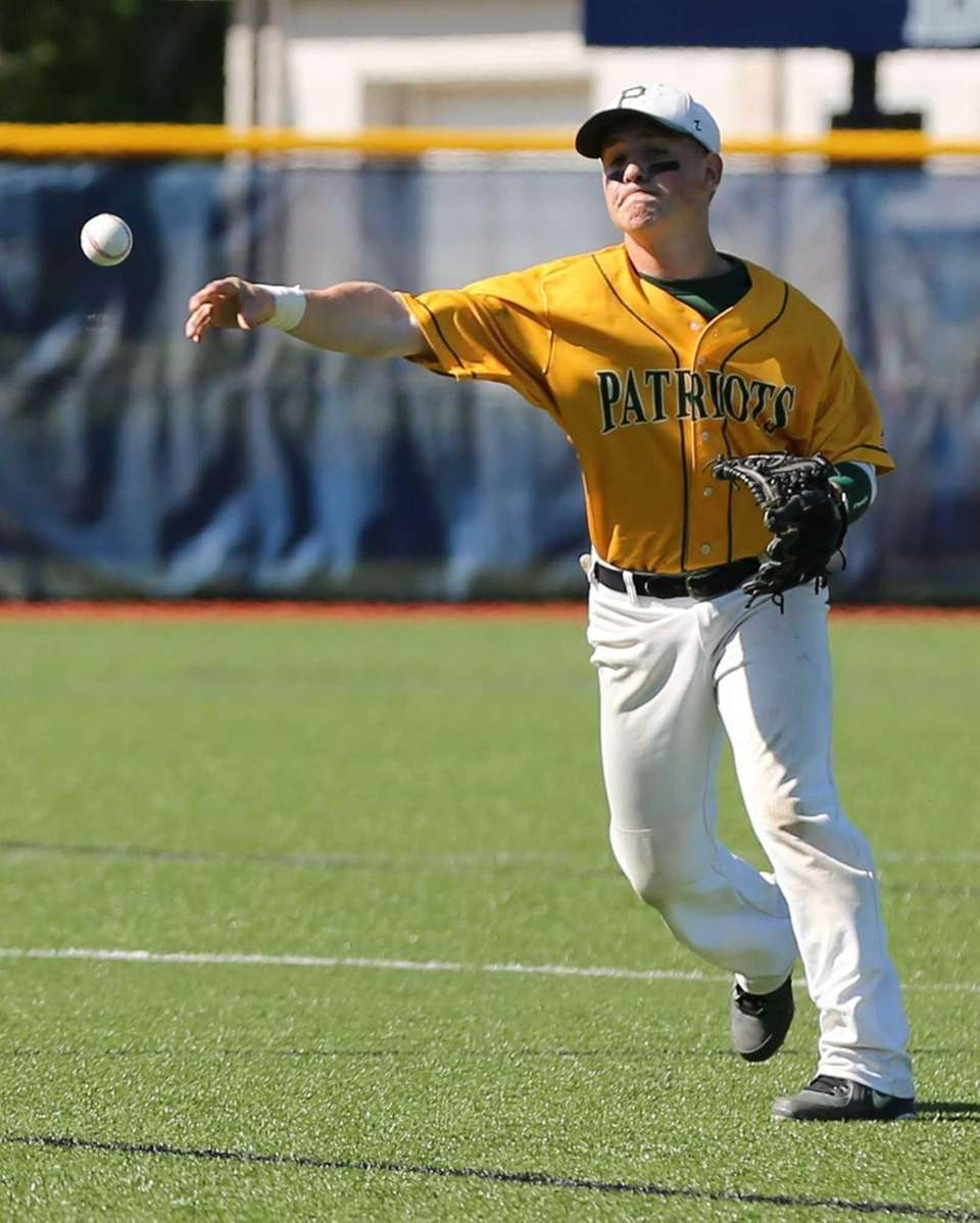Ward Melville Second Baseman Zachary Hood makes the