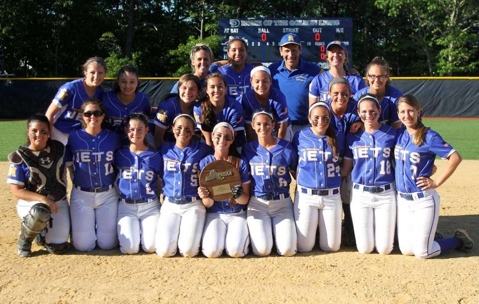 East Meadow softball holds the Long Island Class