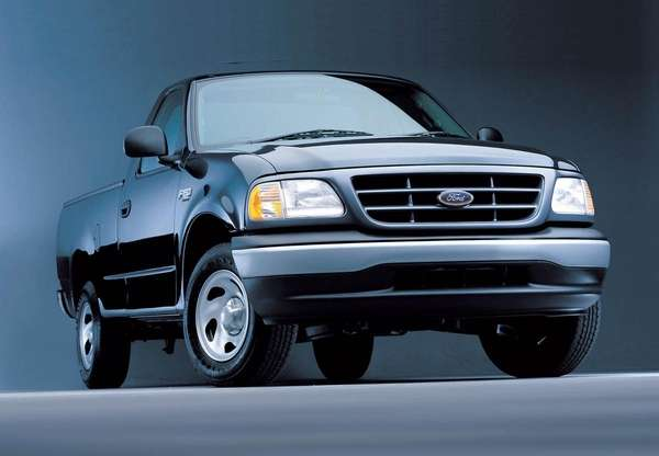 The 2002 Ford F-150 is among a number