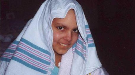 Sarah Grace Weippert, of Hicksville, was 12 when