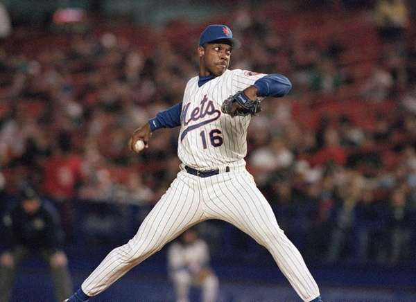 New York Mets pitcher Dwight