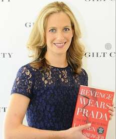 """The Devil Wears Prada"" author Lauren Weisberger celebrates"
