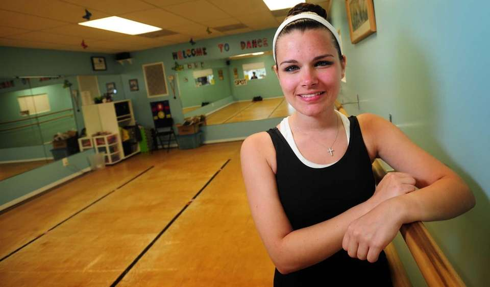 Samantha Ambrico studies and teaches dance, works as