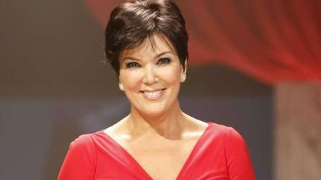 Kris Jenner at the Red Dress Collection 2013