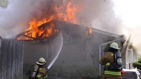 The Medford Fire Department responded to a house