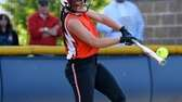 Babylon's Michelle Mangini swings against Marlboro in the