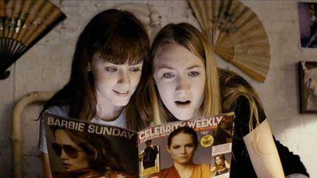 Alexis Bledel as Violet and Saoirse Ronan as
