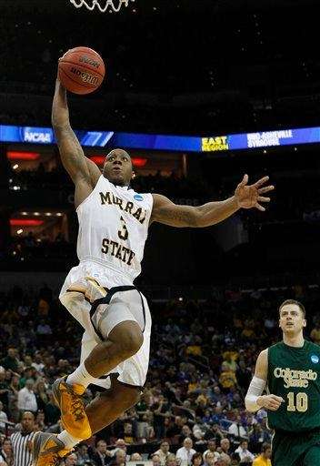 Murray State guard Isaiah Canaan soars to the