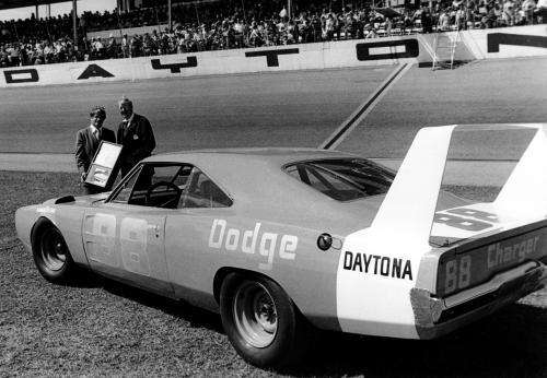 The 1969 Dodge Charger Daytona enjoyed a very