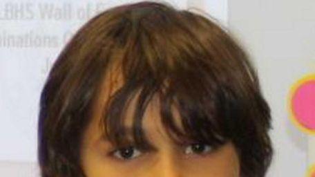 Third-grader Tyler Fazzari, who attends John Philip Sousa