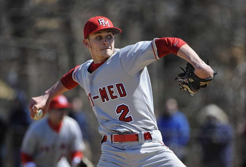 MATT VOGEL Patchogue-Medford, RHP Overpowering pitcher with a