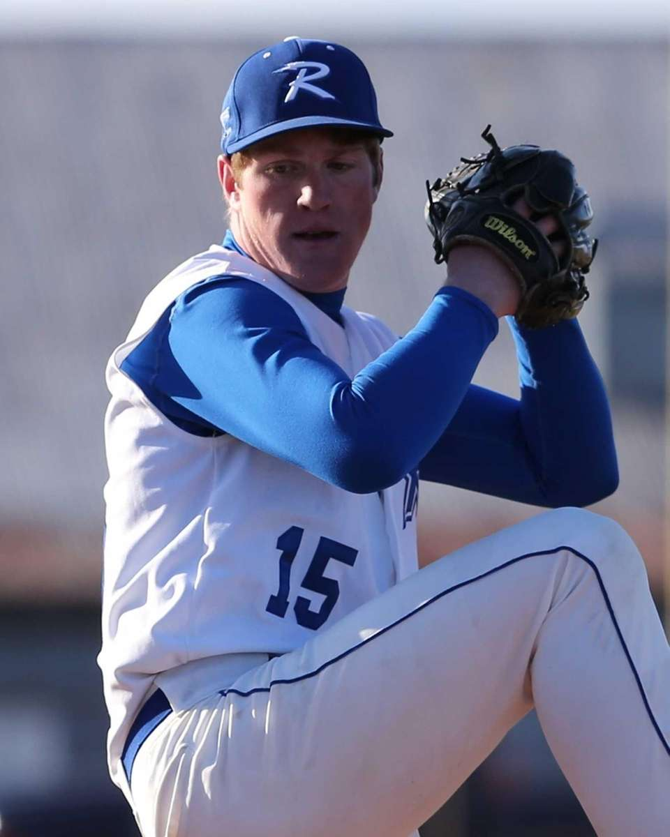 Riverhead pitcher Matt Crohan threw back-to-back no-hitters and