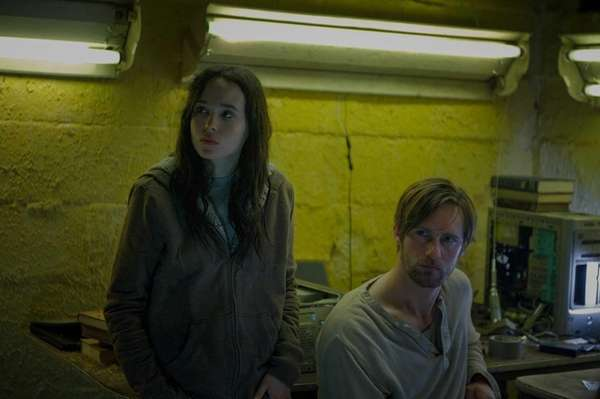 Ellen Page as Izzy and Alexander Skarsgard as