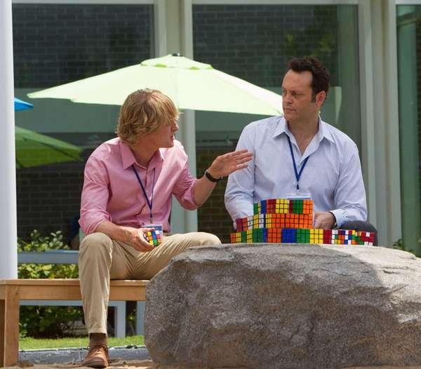 Nick (Owen Wilson) and Billy (Vince Vaughn) ponder