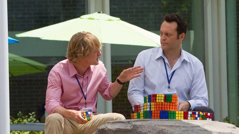 Nick (Owen Wilson) and Billy (Vince Vaughn) ponder
