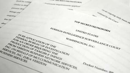 A copy of the U.S. Foreign Intelligence Surveillance