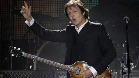Paul McCartney at Citi Field in 2009. Sir