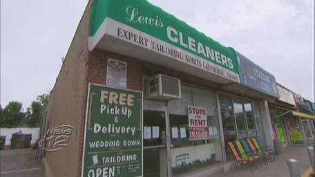 Lewis' Dry Cleaners on Carman Avenue in