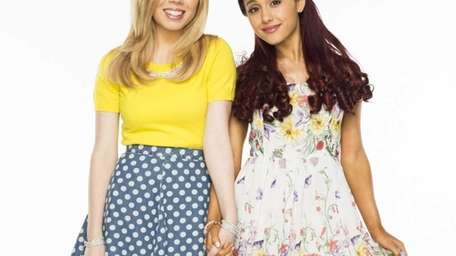 Nickelodeon's Jennette McCurdy and Ariana Grande star in