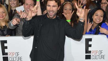 Brody Jenner attends the E! Network 2013 Upfront
